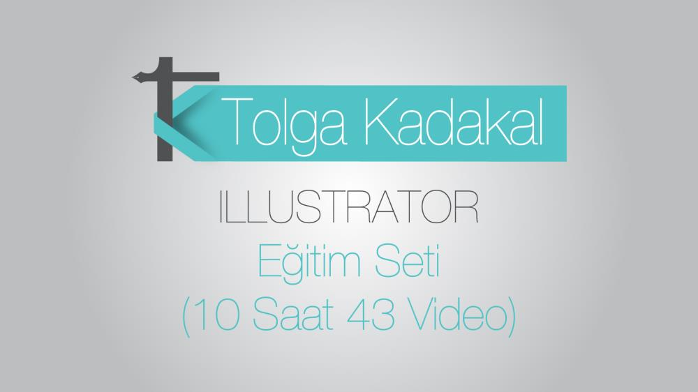 Adobe Illustrator CC (Creative Cloud)  10 Saatlik Eğitim Seti